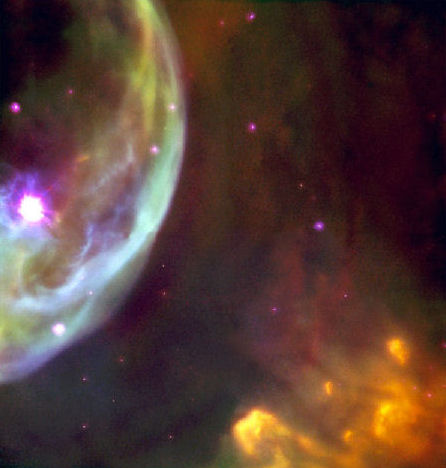 Bubble Nebula NGC 7634